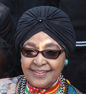 Winnie Madikizela-Mandela - Image: Winnie Mandela 190814