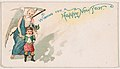 Wishing You a Happy New Year, from the New Years 1890 series (N227) issued by Kinney Bros. MET DPB874643.jpg