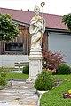Wolfsberg Theissenegg Statue des hl Albinus 03092014 504.jpg
