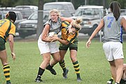Women's Rugby Tackle 1