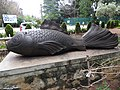 Wood fish art-1-cubbon park-bangalore-India.jpg