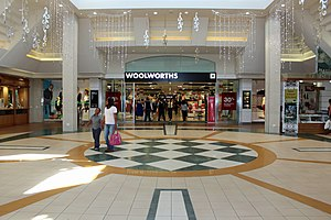 Woolworths (South Africa) - Woolworths store in Somerset Mall, showing the current branding.
