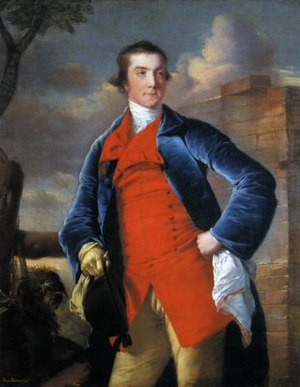 Harry Peckham - by Joseph Wright of Derby