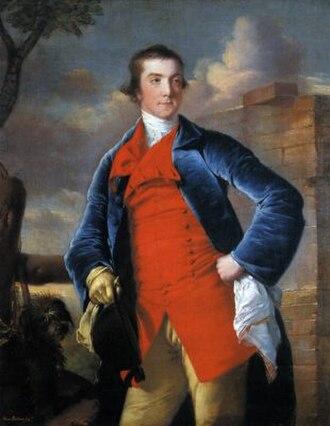 Harry Peckham - by Joseph Wright of Derby