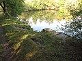 Xaverovský rybník I, schody.jpg