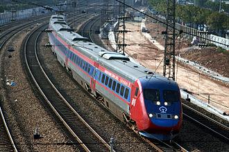 SJ X2 - Xinshisu trainset in China operated by Guangshen Railway Company (2006)