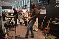 Yamaha stage - Motif XF Premium Collection, MOX, MX demo by Adrian Zalten, with Dennis Hormes on Pacifica 611VFM E-Guitar and others - Musikmesse Frankfurt 2013.jpg