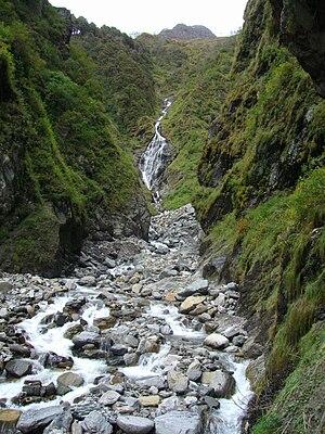 Yamunotri - Yamuna River at Yamunotri