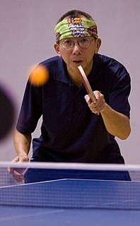 Yau-Man Chan Malaysian table tennis player, technology executive, and reality television participant
