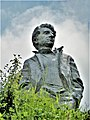 Yeghishe Charents monument in Tsaghkadzor (02).jpg