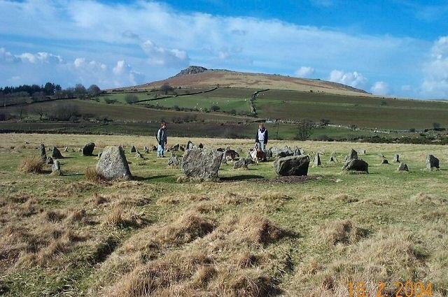 Yellowmead circles - Dartmoor - geograph.org.uk - 21344