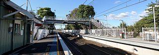 Yennora railway station railway station in Sydney, New South Wales, Australia