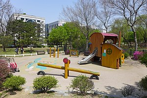 Yeouido Park - Image: Yeouido Park Children Play Area 201604