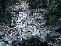 Yosemite Lower Falls Bridge - panoramio.jpg