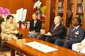 Yoshimasa Hayashi Tom Schieffer and Edward A Rice Jr 20080812.jpg