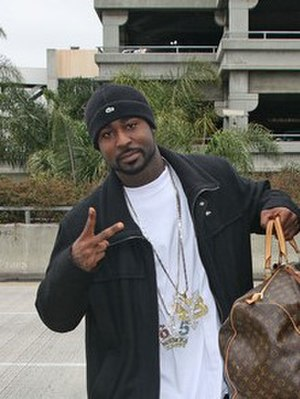 Young Buck - Young Buck departs from the LAX in November 2010.