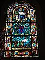 Ypreville-Biville (Seine-Mar.) église d'Ypreville, vitrail 08.jpg