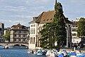 Zürich - Wasserkirche - Rathaus - Quaibrücke IMG 0925.JPG