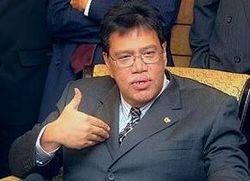 Zahrain Mohd Hashim Bayan Baru parliamentary seat.