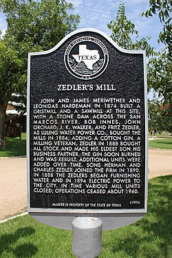 Photo of Zedler's Mill, Leonidas Hardeman, James Meriwether, John Meriwether, and 4 others