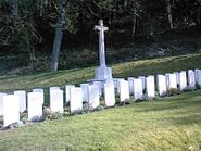 Zeebrugge Memorial and Graves from St James Cemetery in Dover