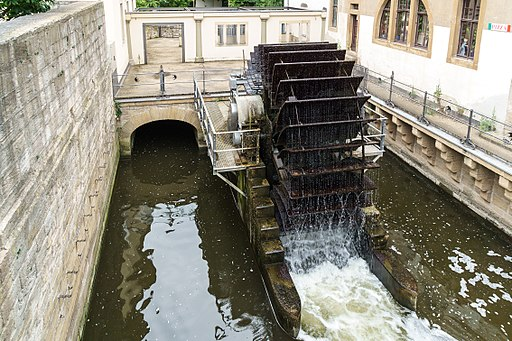 Zeitz Mittelmuehle Wasserrad