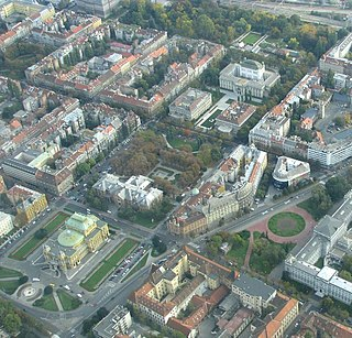 Lenuci Horseshoe A U-shaped system of parks and city squares surrounding central Zagreb
