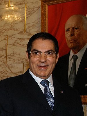 Legitimation crisis - Ben Ali, former president of Tunisia, was deposed by the Tunisian people when the Arab Spring began in his state in late 2010.