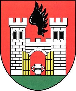 Malešov - Image: Znak obce Malešov