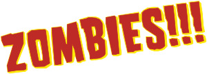 English: Wordmark of the Zombies!!! board game...