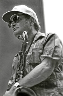 Sims at the 52nd Street Jazz Fair in 1976