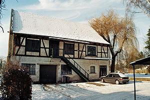 Haunetal - Konrad Zuses factory at Neukirchen (situation january 2010)