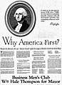 """""""America First"""" ad from Chicago mayoral election, 1927.jpg"""