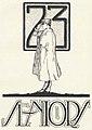 """""""Seniors"""" """"23"""" art, from- Virginia Tech Bugle 1923 (page 45 crop).jpg"""