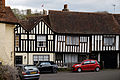 'Bennets' and 'Falcon House' in Falcon Square, Castle Hedingham Essex England.jpg