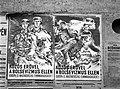 'Közös erővel a bolsevizmus ellen Európa és Magyarország fennmaradásáért!' Plakátok, 1944. Fortepan 72670.jpg