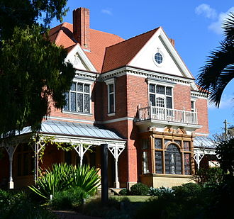 Bellevue Hill, New South Wales - Caerleon (1885)