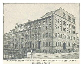 Lower Manhattan Hospital - The hospital in 1893