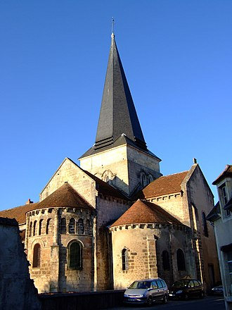 Saint-Amand-Montrond - The church of Saint-Amand, in Saint-Amand-Montrond