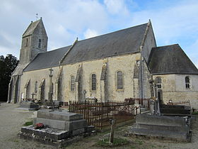 L'église Saint-Christophe.