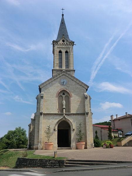 Église Saint-Didier de Saint-Didier-de-Formans.