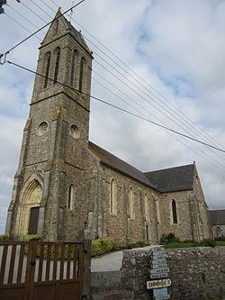 Église Saint-Martin de Maupertus-sur-Mer 01.JPG