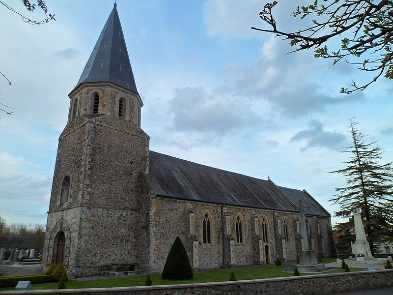 église Saint-Martin du Dézert
