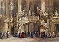 Émile-Antoine-François Herson - Interior of St Etienne du Mont - Walters 371364.jpg