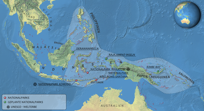 Great Barrier Reef Karte.Coral Triangle Wikipedia