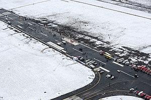 Rostov-on-Don Airport - Wreckage of Flydubai Flight 981