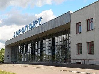 Vologda Airport - Image: Аэровокзал Вологда