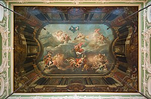 Stroganov Palace - A frescoed ceiling by Giuseppe Valeriani and Antonio Peresinotti