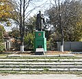 Братська могила радянських воїнів. Поховано 50 воїнів...JPG