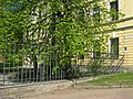 ВМА, Ак. Лебедева 4 корпус 2, ограда.jpg